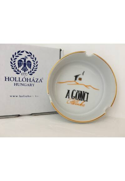 A Gönci/Hollóházi Porcelán hamutál
